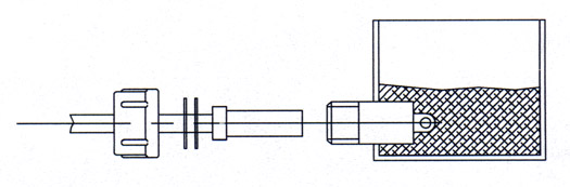 encapsulated hv receptacles